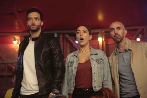 Rayane (Tarek Boudali), Stéphanie (Vanessa Guide) et Pierre (Julien Arruti) mènent l'enquête.