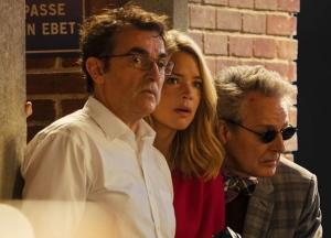 Jean-Baptiste, Suze et M. Blin (Nicolas Marié) mènent l'enquête. DR