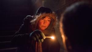 """""""Sous les étoiles..."""": Christine (Catherine Frot) dans son antre."""