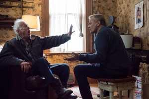 Willis, un vieux père (Lance Henriksen) et son fils (Viggo Mortensen). DR