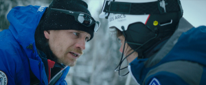 """""""Slalom"""": Fred (Jérémie Renier), un coach qui exige des résultats. DR"""