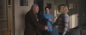 Anthony, Anne et Laura (Imogen Poots), l'aide-soignante. DR