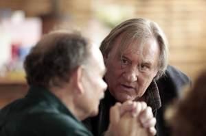 Rabut (Jean-Pierre Darroussin) et Feu-de-Bois (Gérard Depardieu). Photo David Koskas