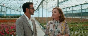 Lamarzelle (Vincent Dedienne) et Eve Vernet. DR