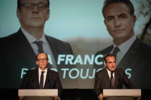 François et Nicolas en meeting. DR