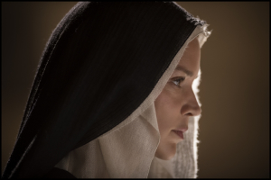 Benedetta Carlini (Virginie Efira), une nonne amoureuse.