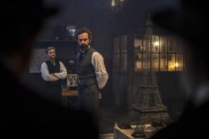 Gustave Eiffel (Romain Duris) et son oeuvre. DR